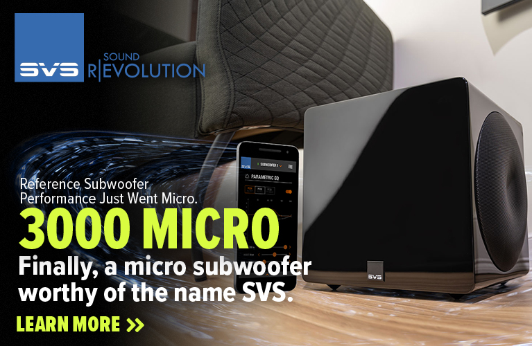 SVS 3000 Micro Subwoofer