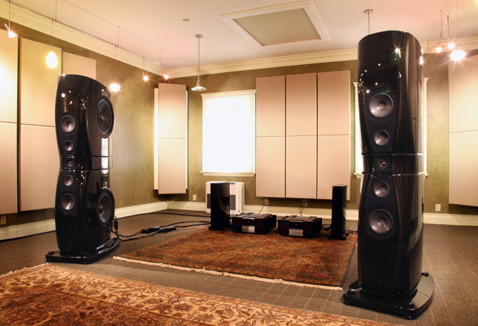 Rockport Technologies' listening room